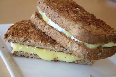 Lemon Cheesecake Breakfast Sandwich
