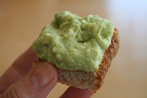 Avocado on Toast with Truffle Salt from Shockinglydelicious.com