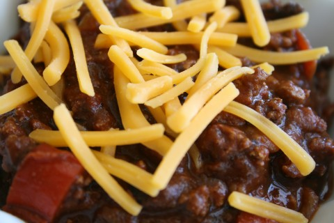 Mom's Spicy Chili for Seniors from Shockinglydelicious.com