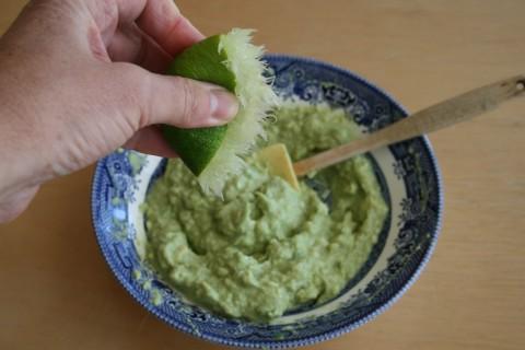 Lime and avocado from Shockinglydelicious.com