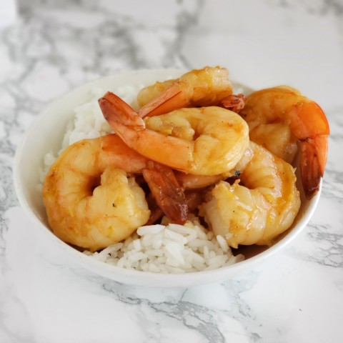 Weeknight Skillet Shrimp Recipe on ShockinglyDelicious.com