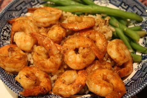 Weeknight Skillet Shrimp on Shockingly Delicious