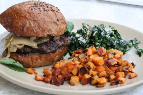 Bison Burger from True Food Kitchen on Shockinglydelicious
