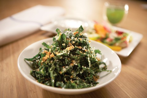 Tuscan Kale Salad from True Food Kitchen on Shockinglydelicious
