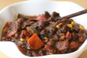 Portobello Vegetarian Chili of the Gods