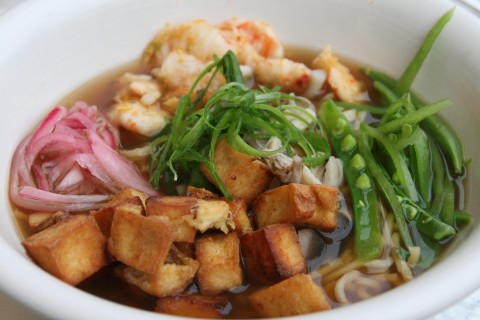 Spicy Shrimp and Asian Noodles from True Food Kitchen