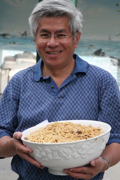 Hung Le and his Fried Noodles
