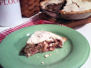 Sweet Applewood-Smoked Bacon Apple Pie