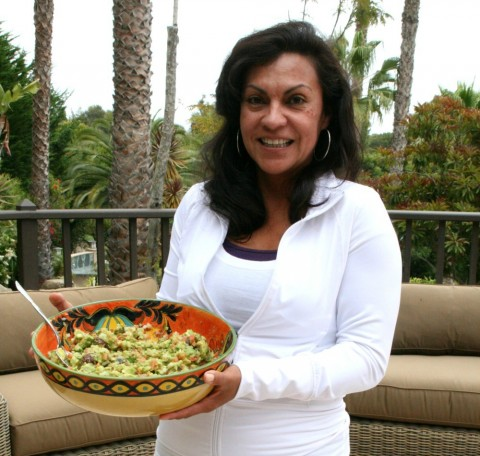 Elizabeth Rafeedie with Best Guacamole on Shockingly Delicious
