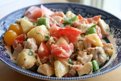 Fresh Tuna Summer Salad
