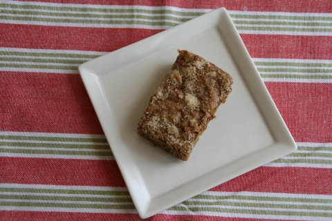Spiced Banana Coffee Cake