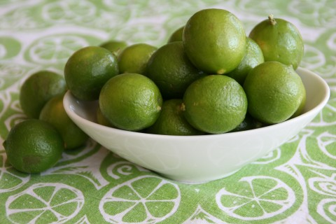 Key Limes in a bowl on Shockinglydelicious.com