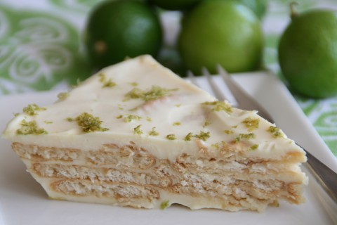 Key Lime Cracker Pie