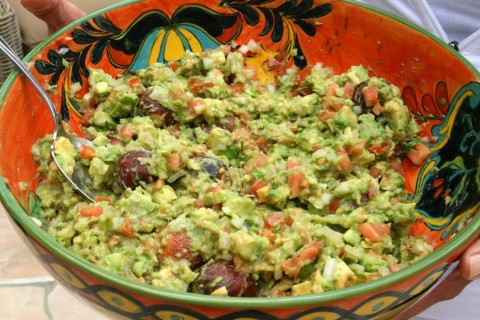 Best Guacamole in the World is a title not given lightly. This is spectacular, simple and traditional. It's more about the technique than exact quantities. Follow this easy technique for best results.