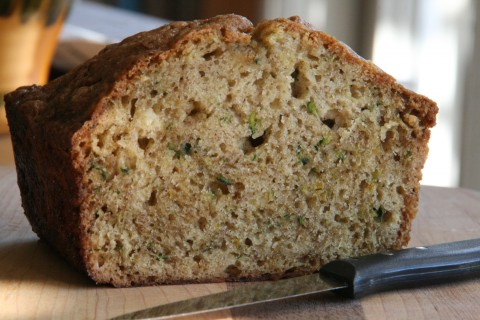 Spiced Zucchini Bread on Shockinglydelicious.com