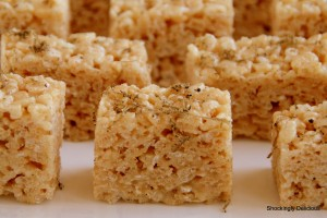 Truffled Brown Butter Rice Krispies Treats