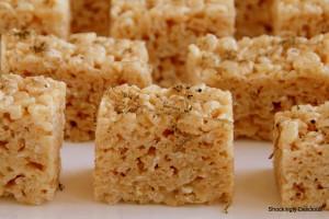 Truffled Brown Butter Rice Krispies Treats