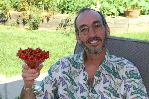 Summer Cherry Tomato Cocktail