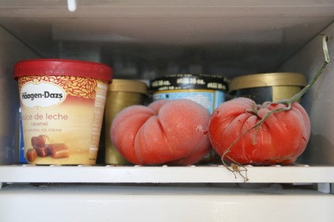 Freeze your tomatoes
