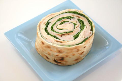 It only takes four ingredients for a Turkey Pinwheel with Spinach and Boursin. Picnic food has never been so delicious!