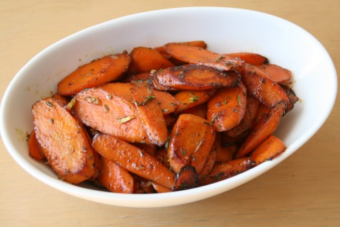 Honeyed Carrots on ShockinglyDelicious.com