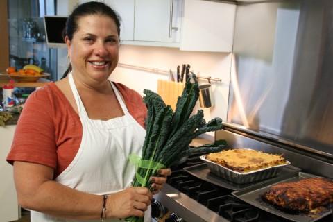 Best New Hostess Gift -- Kale Bouquet
