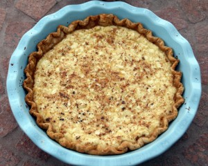 Heirloom Cottage Cheese Pie