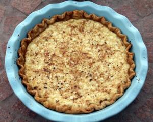 Heirloom Cottage Cheese Pie