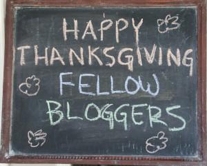 Blogger chalkboard