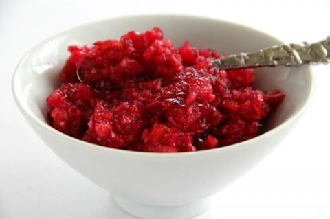 Easy Fresh Cranberry-Ginger Relish recipe