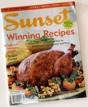 Sunset Magazine Nov 2005