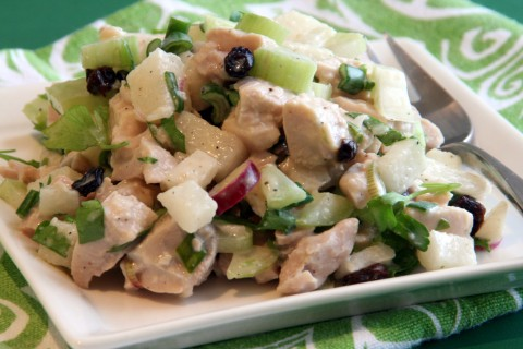 Turkey Salad with Korean Pear and Celery