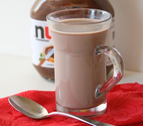 Nutella Hot Chocolate | ShockinglyDelicious.com