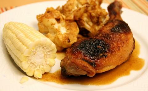 Orange Roast Chicken