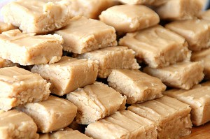 Peanut Butter Fudge stacked