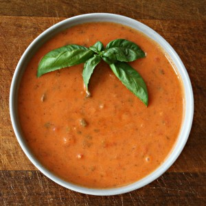Sweet Tomato Basil Bisque