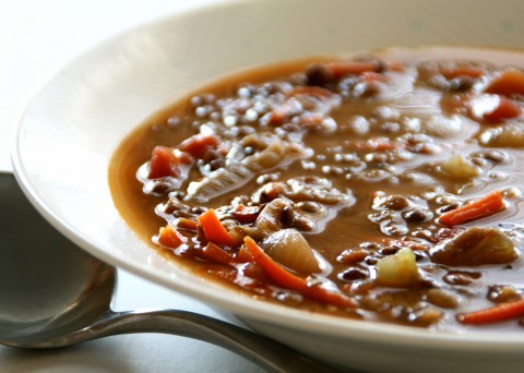 Best Ever Simple Lentil Soup