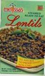 Melissa's Lentils