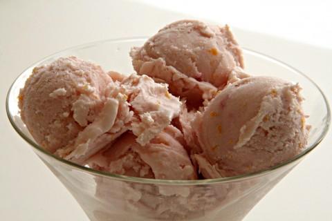 No-Churn Blood Orange Dreamsicle Ice Cream
