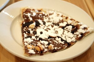 Nutella Dessert Pizza at Rosti Italian Kitchen