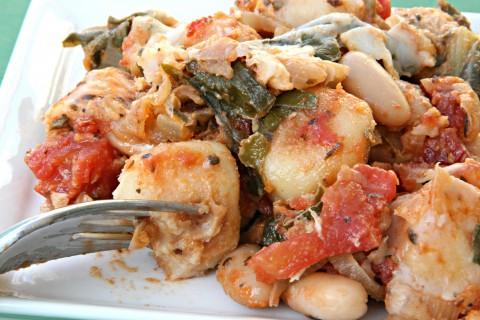 Vegetarian Skillet Gnocchi