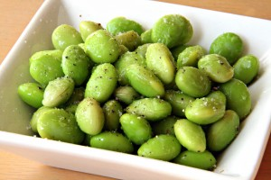 Truffled Edamame on ShockinglyDelicious