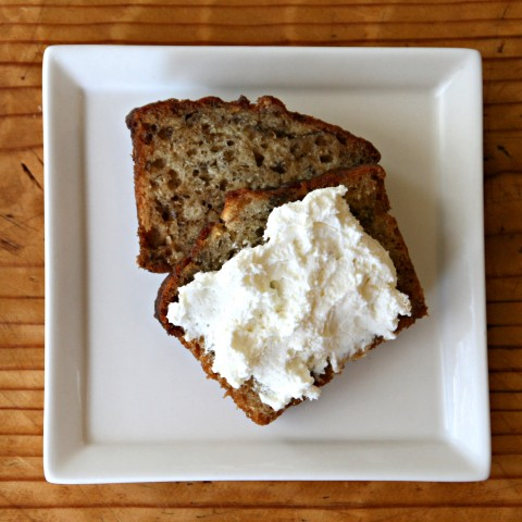 Banana Bread and Cream Cheese