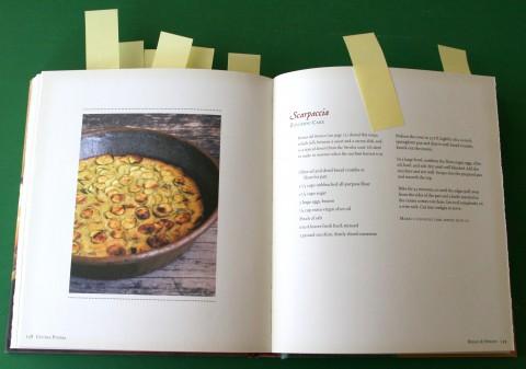Scarpaccia -- zucchini cake from Cucina Povera