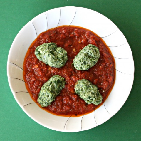 Gnudi (Nude Ravioli) From Cucina Povera