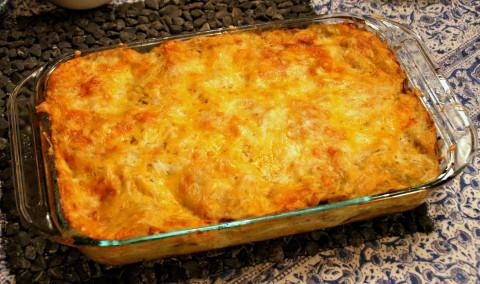 Potato chicken boudin