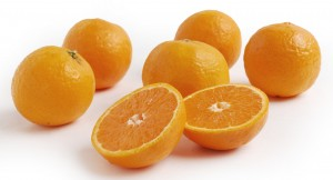 Ojai Pixie Tangerines cut open
