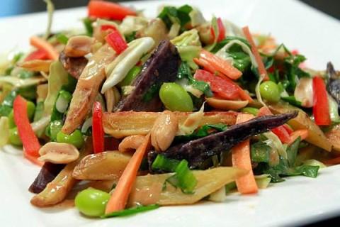 Thai potato salad from Average Betty