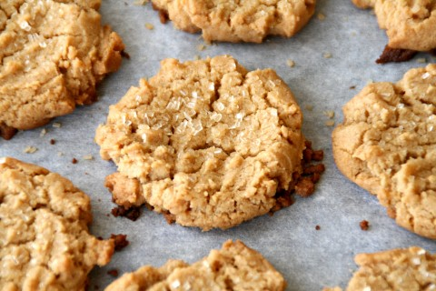 5-ingredient Gluten-Free Flourless Peanut Butter Cookies