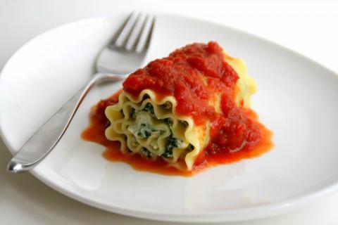 Chard Lasagna Rolls